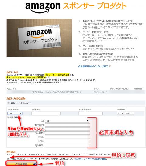 Amazon スポンサー プロダクト